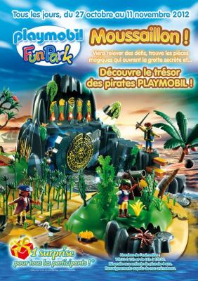 Moussaillon, lme trésor des pirates au Playmobil Funpark