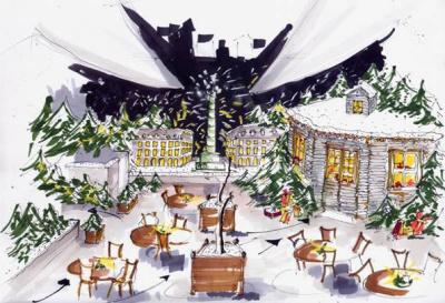 La Terrasse d'hiver du Park Hyatt Paris-Vendôme