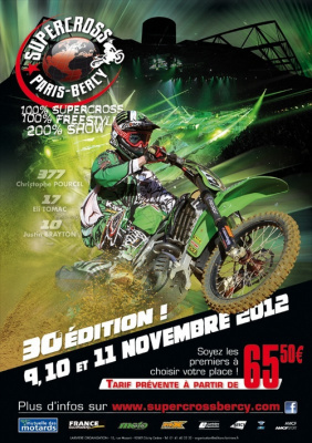 Le Supercross de Paris-Bercy 2012