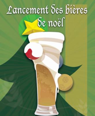 Lancement des bieres de Noël
