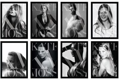 Kate Moss en dédicace chez Colette