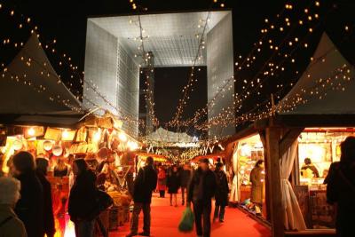 Le Marché de Noël de La Défense 2012