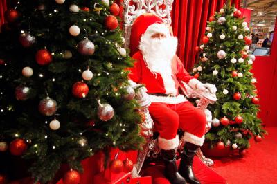 Où trouver le Père Noël à Paris