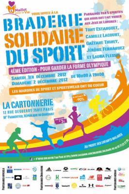 La Braderie Solidaire du sport 2012 à Paris