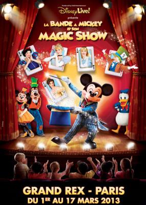 Disney Live 2013 : La Bnade à Mickey et son Magic Show