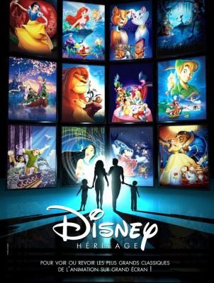 Disney Héritage, week-end de films cultes Disney au Grand Rex
