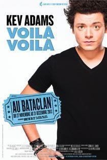 """Kev Adams présente """"voilà, voilà"""" au Bataclan"""