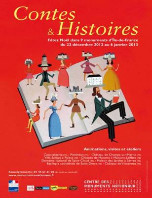 Contes et Histoires dans les Monuments Nationaux 2012