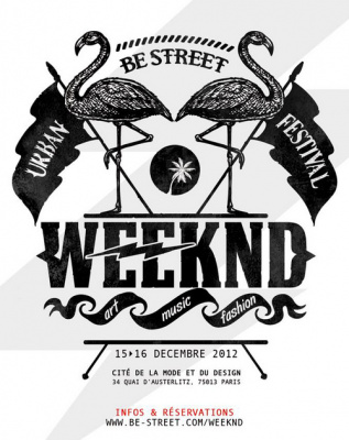 Be Street Weeknd à la Cité de la Mode et du Design