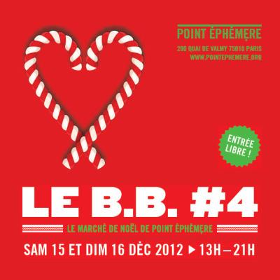 Le Marché de Noël du Point Ephémère 2012