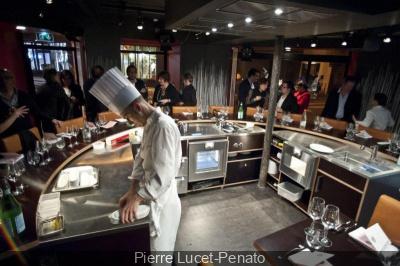 restaurant table ronde à paris