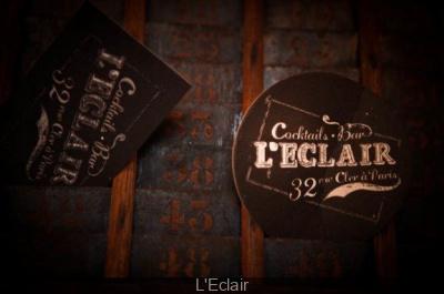 Le Bar l'Eclair, Cocktails et apéros à partager