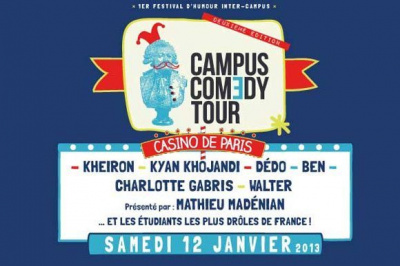 Campus Comedy Tour au Casino de Paris