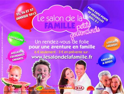 Le Salon de la Famille petits gourmands au Parc des expos, Porte de Versailles