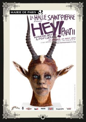Hey ! Modern art & Pop Culture 2 débarque à la Halle Saint-Pierre