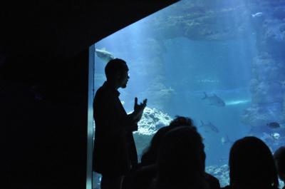 Soirée Passion'Art à l'Aquarium de Paris