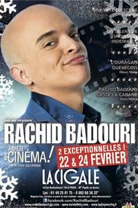 Rachid Badouri à la Cigale à Paris