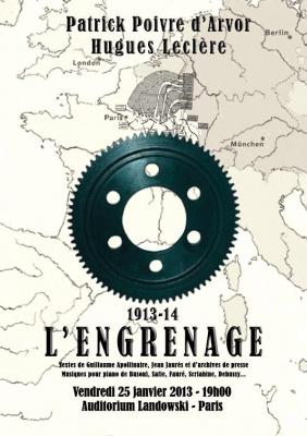 L'Engrenage de Patrick Poivre d'Arvor et Hugues Leclère à l'Auditorium Landowski