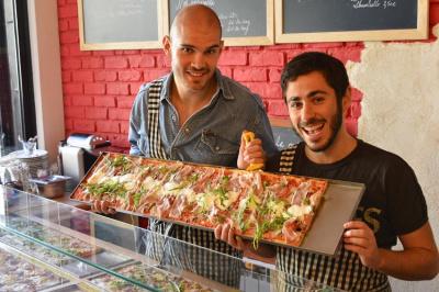 Slize, le restaurant de pizza au mètre à Paris