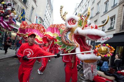 Le Nouvel an Chinois à Paris 2013