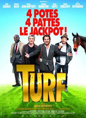 TURF en avant-première à Paris : Gagnez vos places, affiche turf