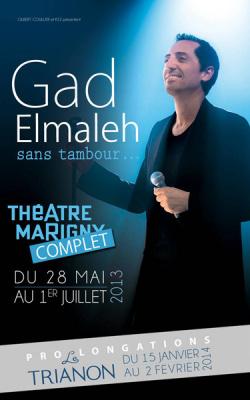 Gad Elmaleh au Trianon en 2014