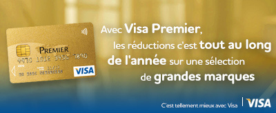 Carte Visa Premier, la mine de bons plans