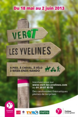 Vert les yvelines week end rando v lo for Week end yvelines