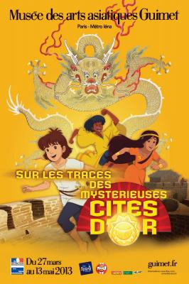 Sur les traces des Mystérieuses Cités d'Or au Musée Guimet