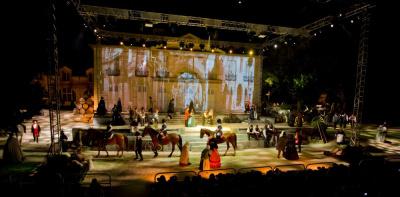Les Misérables, le spectacle Son et Lumière du Château de Cèdres de Montvermeil