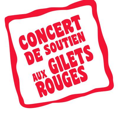 Concert de soutien aux gilets rouges de Virgin au Divan du Monde