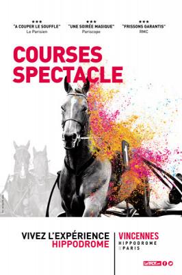 Les Courses spectacle de l'Hippodrome de Vincennes
