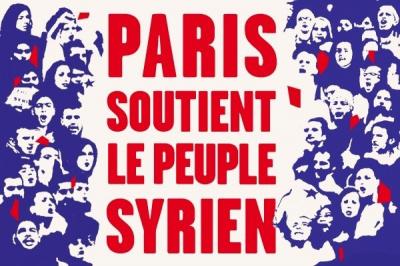 Vague Blanche pour la Syrie à Paris ce 15 mars