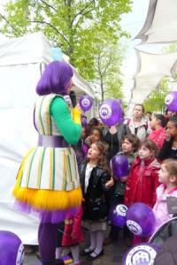 Chasse au trésor poétique à Bercy Village pour les enfants 2013