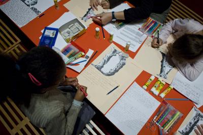 Les ateliers et visites pour les enfants à la BnF