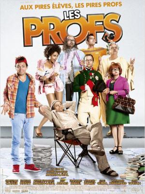 Les Profs en avant-première au grand Rex aec l'équipe du film