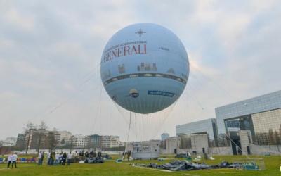 ballon Générali au parc André Citröen