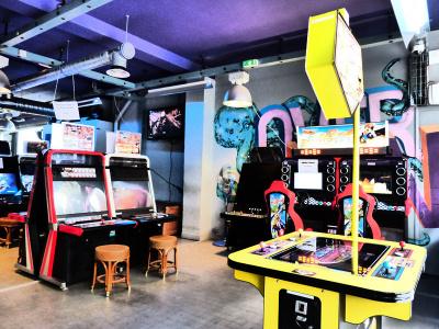 Arcade Street, la salle d'arcade à Paris