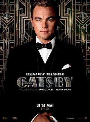 Gatsby le magnifique en direct du festival de Cannes au Grand Rex, affiche gatsby, leonardo di caprio