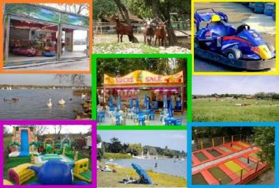le parc multijeux de la base de loisirs de saint quentin