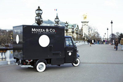 Mozza & Co, le food Truck italien à Paris