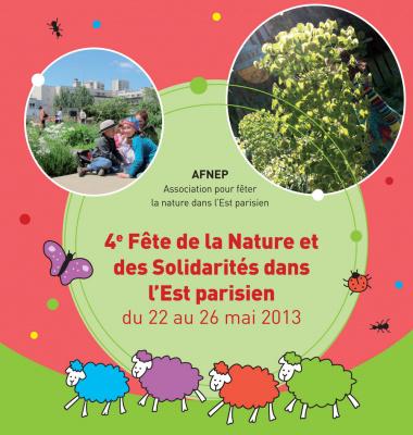 La Fête de la Nature et des Solidarités dans l'Est parisien 2013