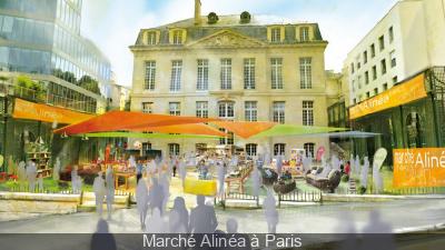 Marché Alinéa à Paris