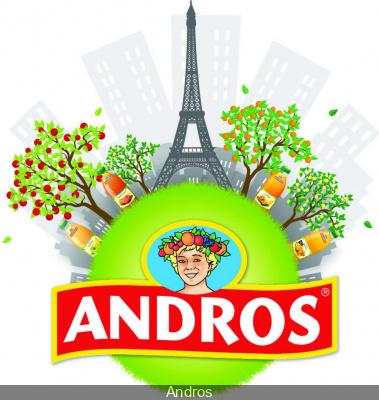 Andros réveille Paris dans ses vergers