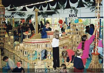 Atelier Kapla à France Miniature