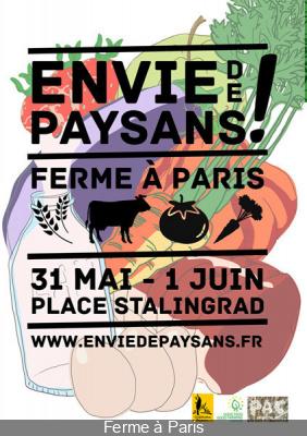 Envie de paysan, la Ferme à Paris