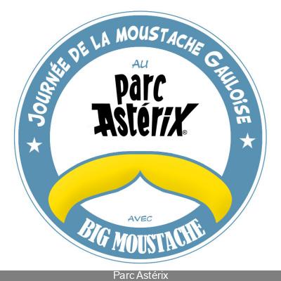 La journée de la moustache Gauloise au Parc Astérix