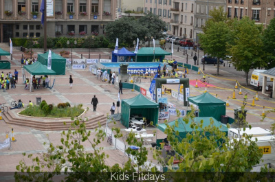 Kids Fitdays au Jardin du Luxembourg