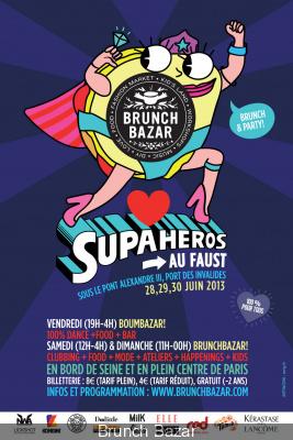 Brunch Bazar Supaheros au Faust