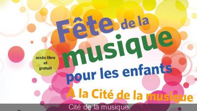La Fête de la Musique des enfants à la Cité de la Musique